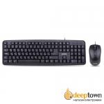 Комплект USB мышь + клавиатура perfeo Tandem PF-570-OP (чёрный)